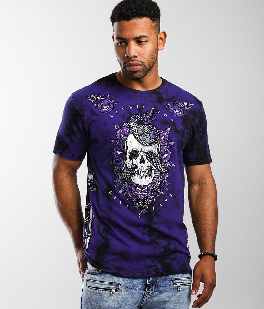 Affliction Twisted Venom T-Shirt front view