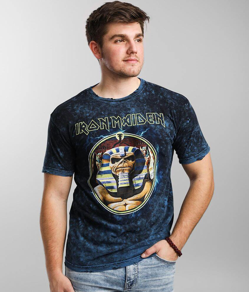 Affliction Iron Maiden Band T-Shirt front view