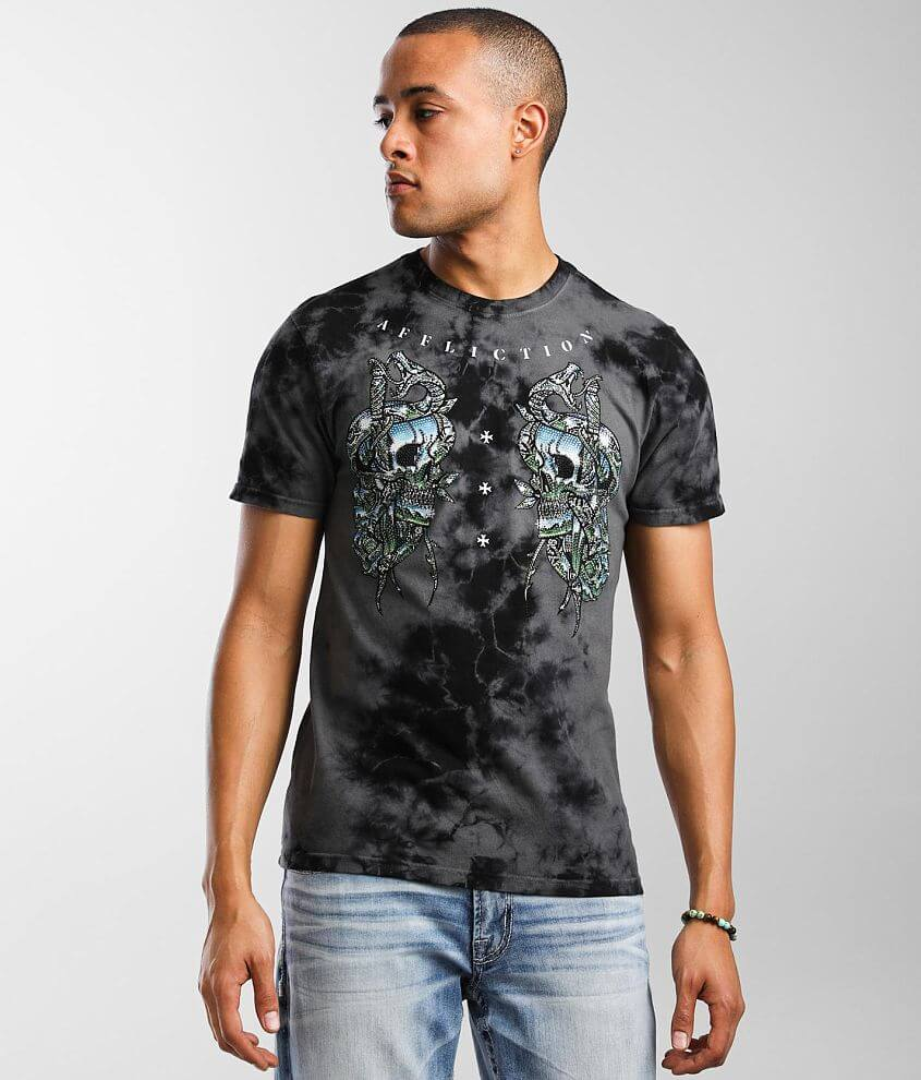 Affliction Roadhouse Chromium T-Shirt front view