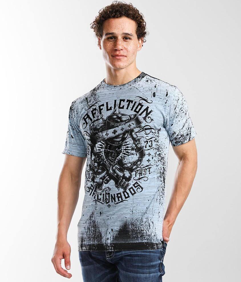 Affliction Grim Intent T-Shirt front view