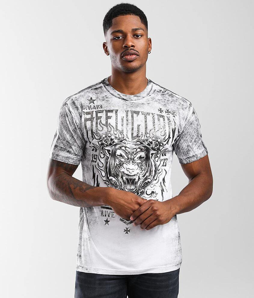 Affliction Phantom Dawn T-Shirt front view