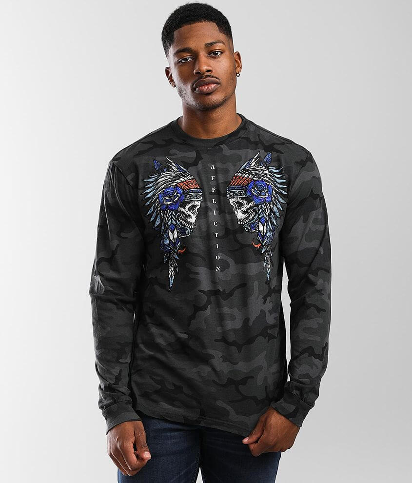 Affliction Twin Tribe T-Shirt front view