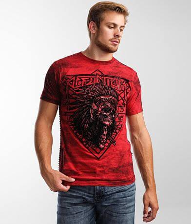 Affliction American Customs Stone & Steel T-Shirt
