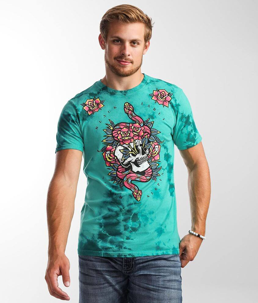 Affliction Sacred Serpent T-Shirt front view