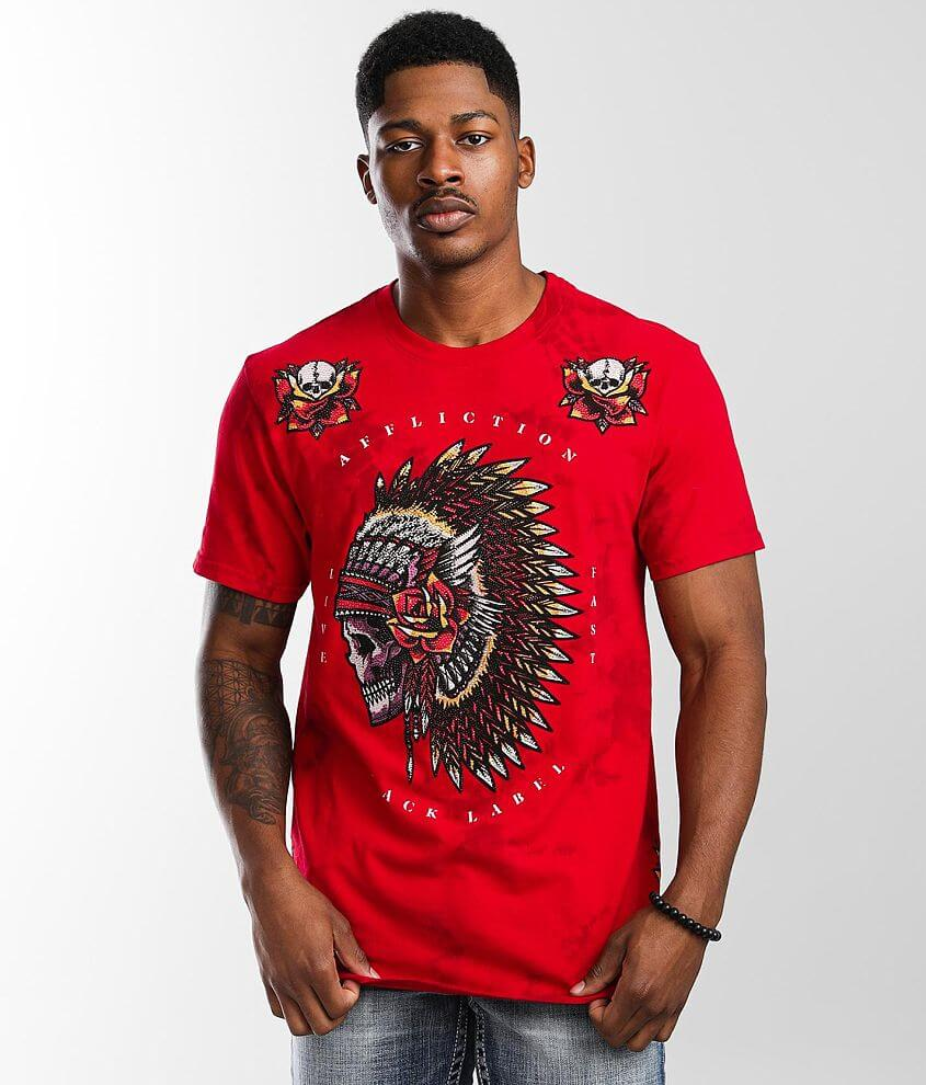 Affliction Night Chief T-Shirt front view