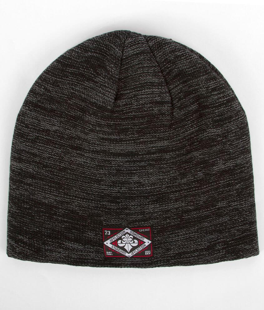 Affliction Standard Slouche Beanie front view
