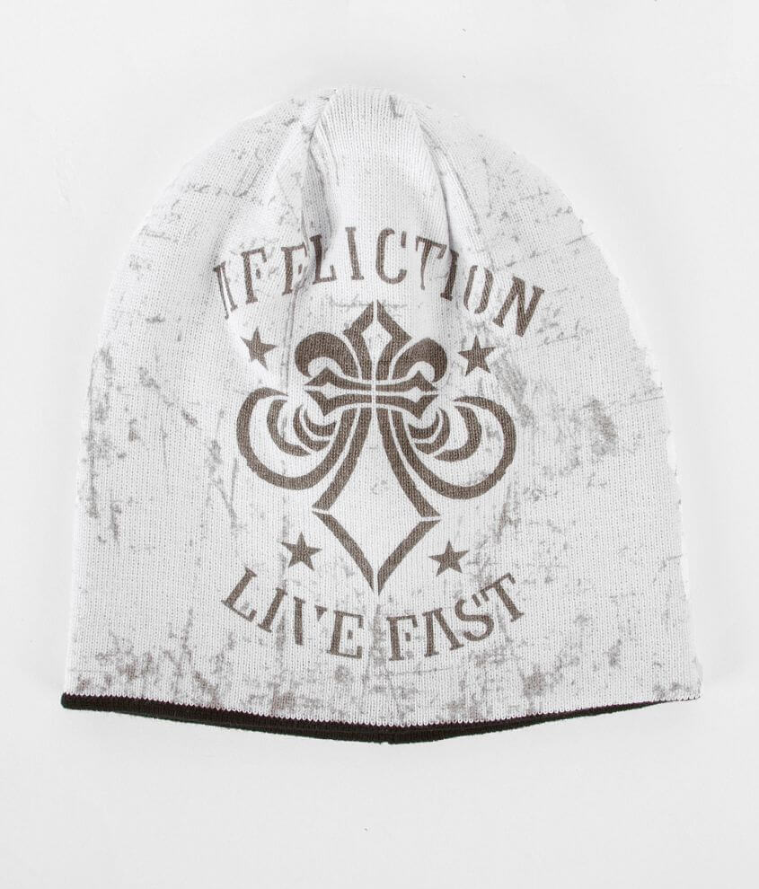 Affliction Fragment Reversible Beanie front view