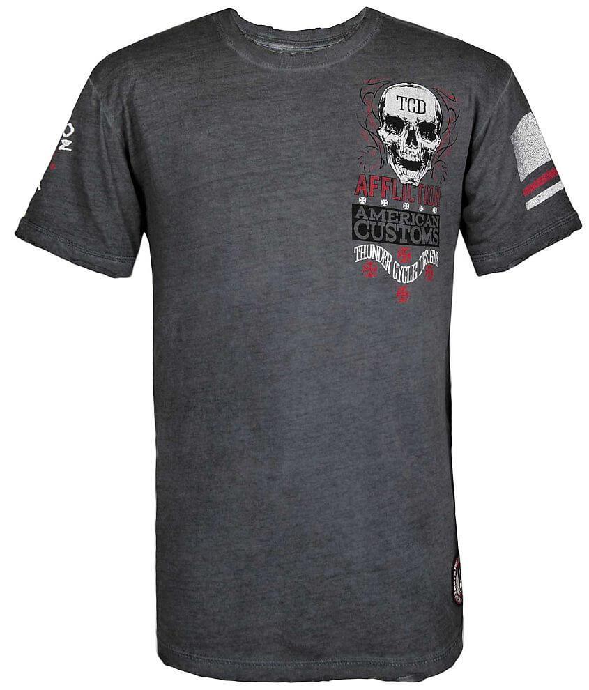 Affliction American Customs Eddie Trotta T-Shirt front view
