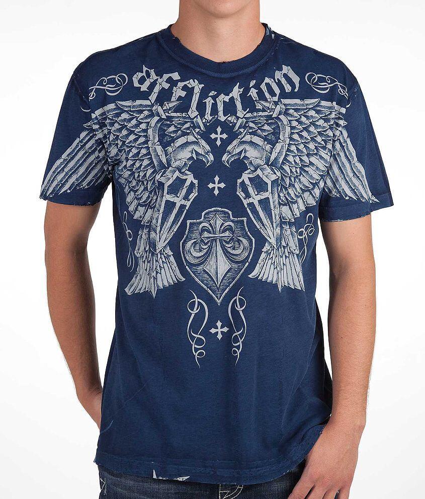 Affliction Negative Reversible T-Shirt front view
