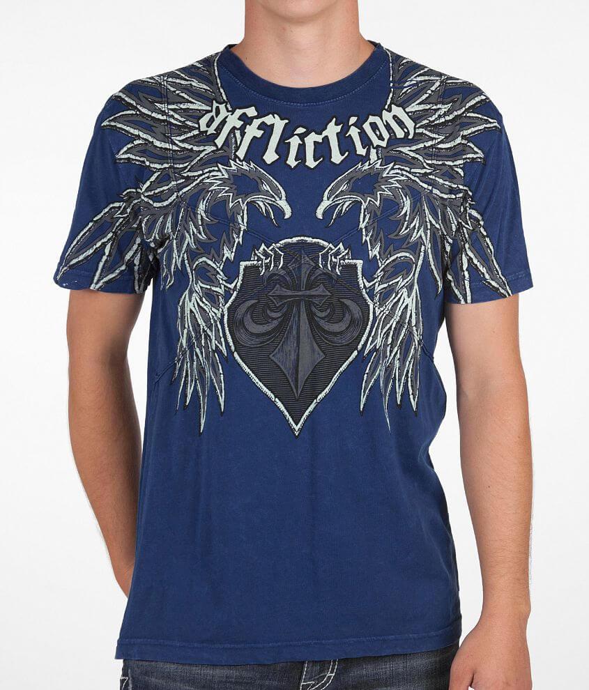 Affliction Departure T-Shirt front view