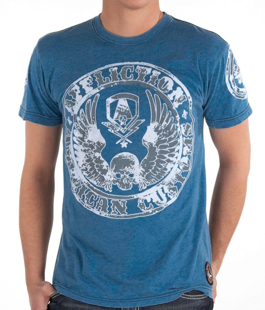 Affliction American Customs Master Customs T-Shirt front view