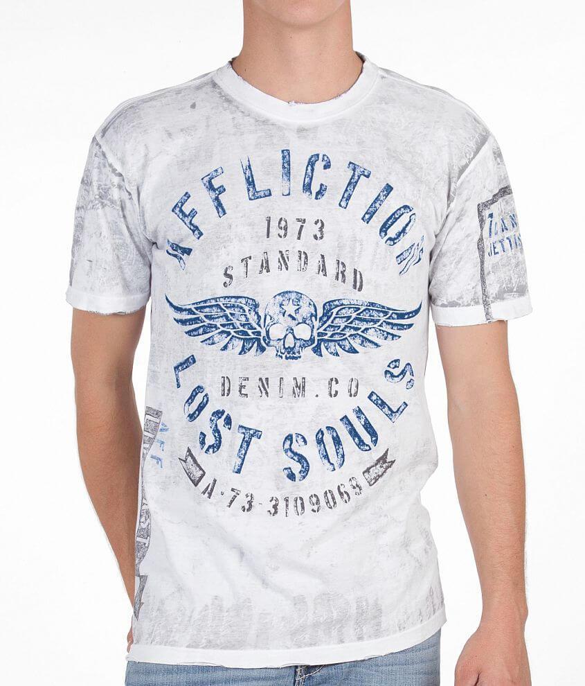 Affliction Bulkhead Reversible T-Shirt front view