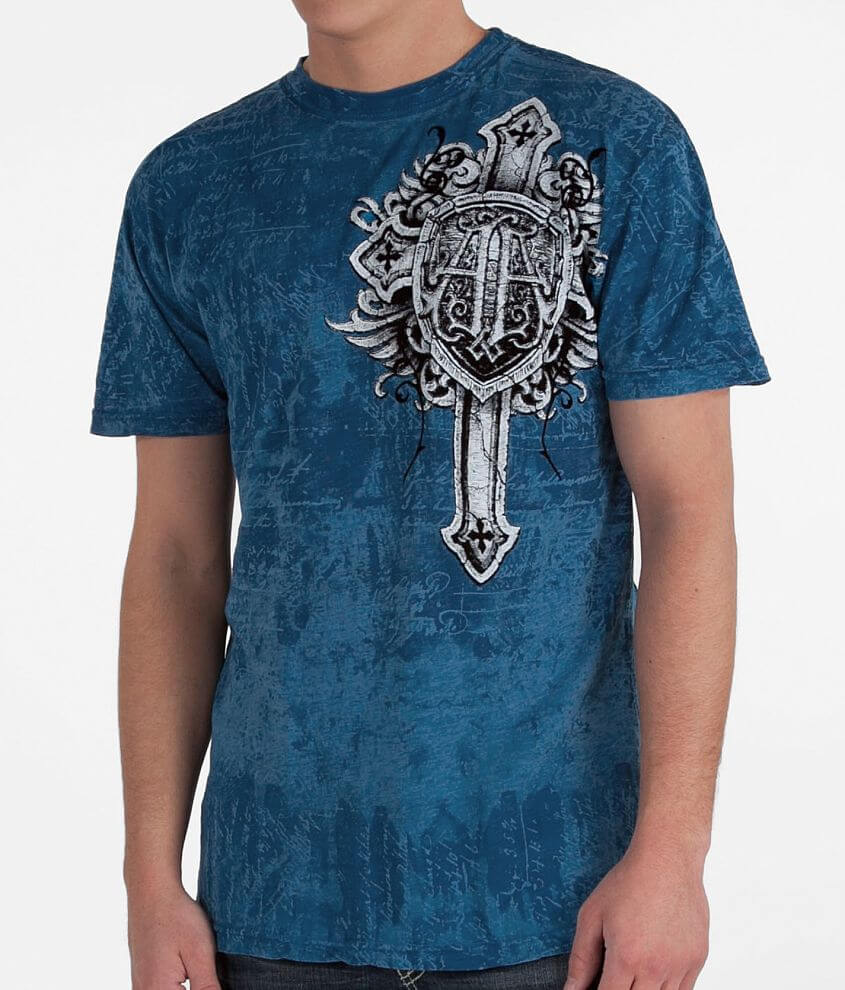 Affliction Mural T-Shirt front view