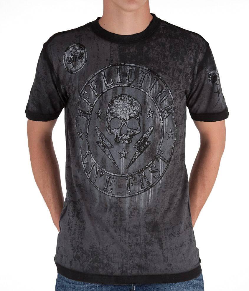 Affliction Shockwave T-Shirt front view