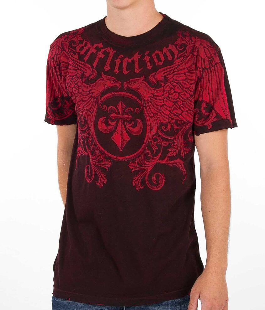 Affliction Primitive Reversible T-Shirt front view