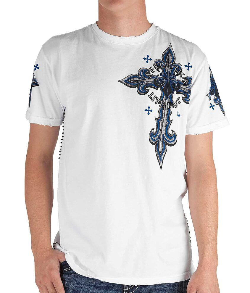 Affliction Daredevil T-Shirt front view