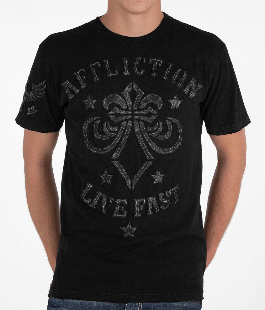 Affliction Grinder T-Shirt front view