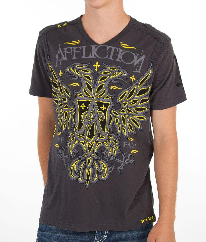 Affliction Spectra T-Shirt front view