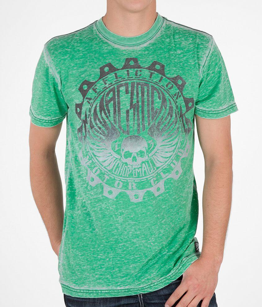 Affliction American Customs Graded T-Shirt front view
