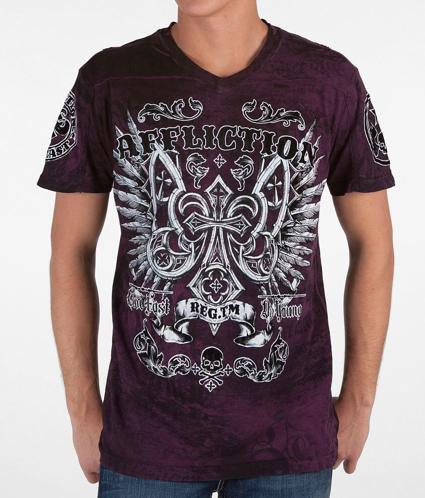 Affliction Crutch T-Shirt front view
