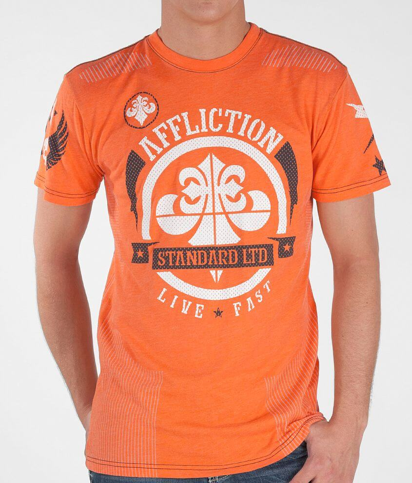 Affliction Shelter Hydrocore T-Shirt front view