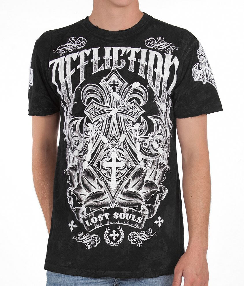 Affliction Surface T-Shirt front view