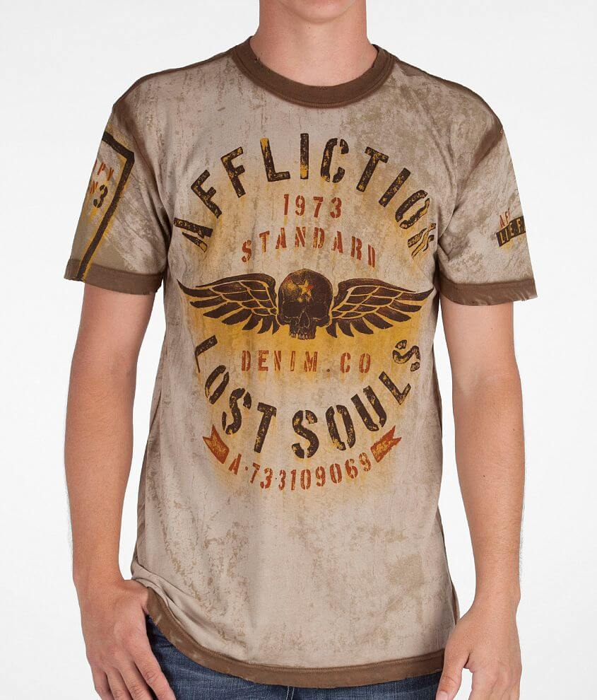 Affliction Traction T-Shirt front view