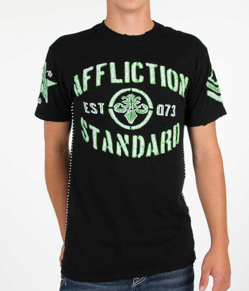Affliction Trench Battle T-Shirt front view