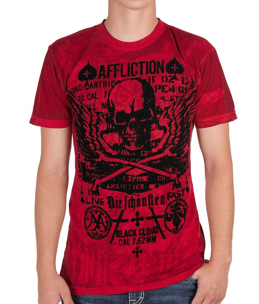 Affliction Cetina Reversible T-Shirt front view