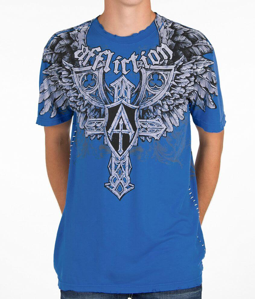 Affliction Elastic T-Shirt front view