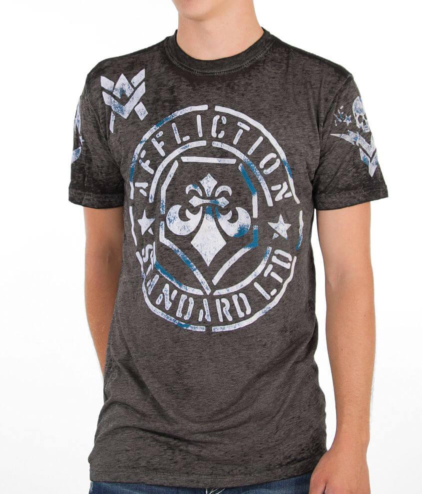 Affliction Radar T-Shirt front view