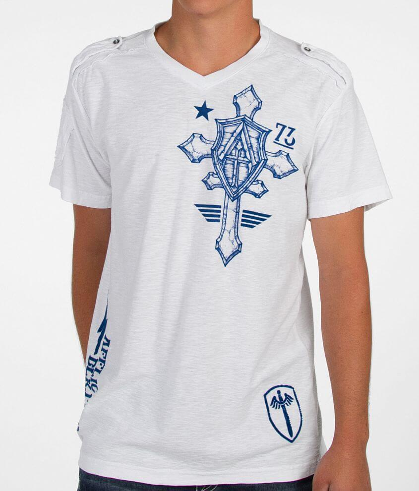 Affliction Do It Again T-Shirt front view