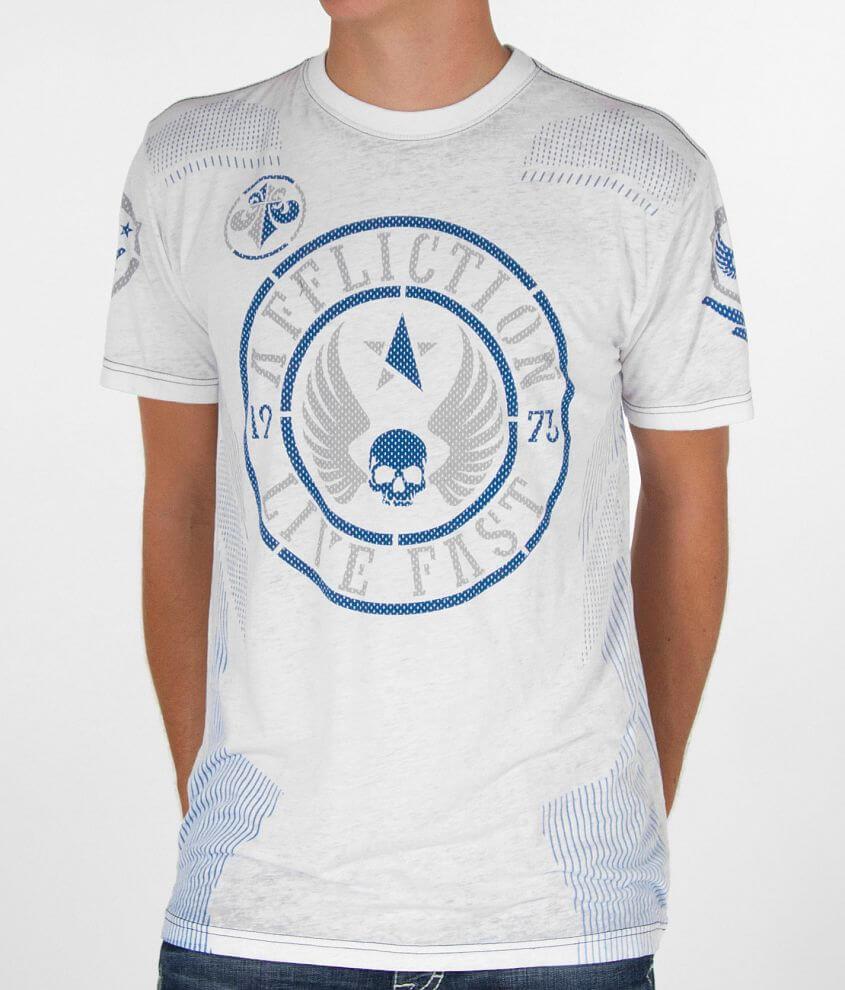 Affliction Divio Roam Hydrocore T-Shirt front view