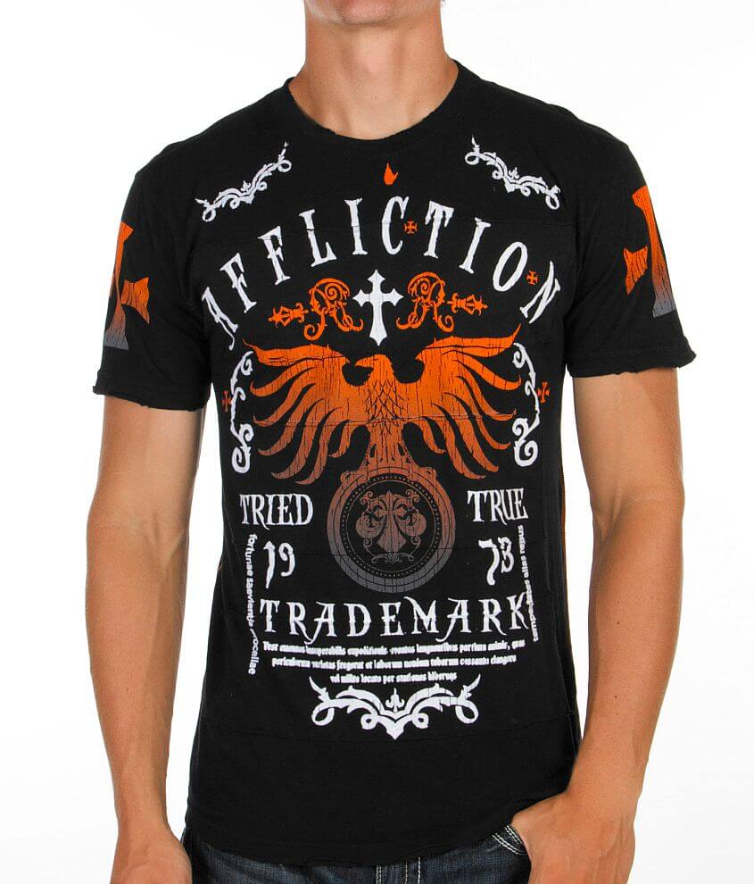 Affliction Tried Truth T-Shirt front view
