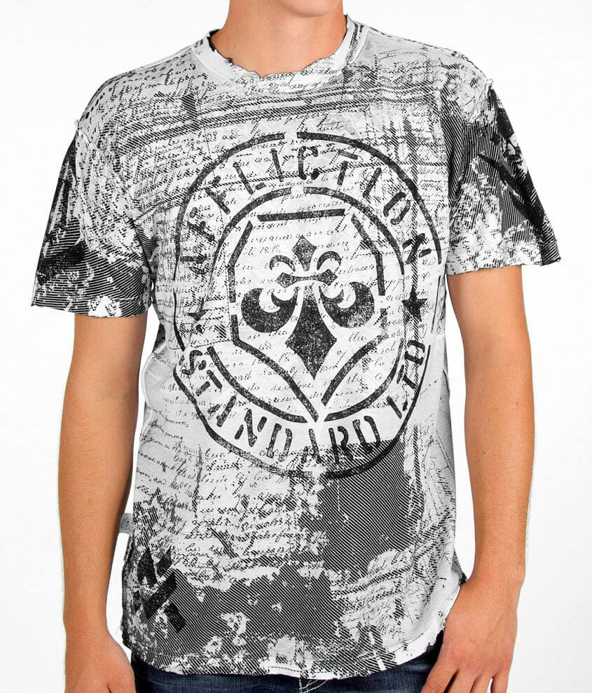 Affliction Deather Slayer Reversible T-Shirt front view