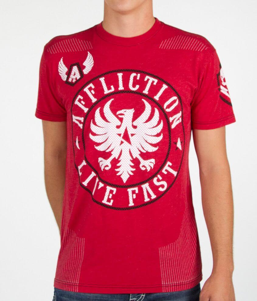 Affliction Divio Smash Hydrocore T-Shirt front view