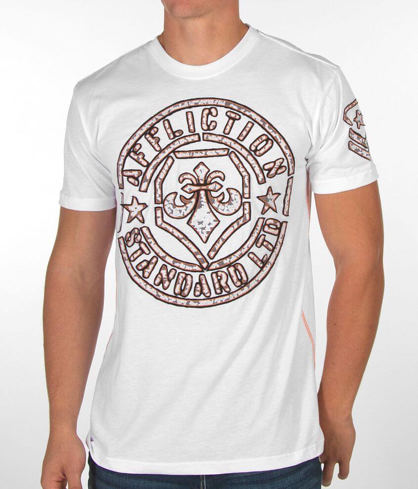 Affliction Radar Tech T-Shirt front view