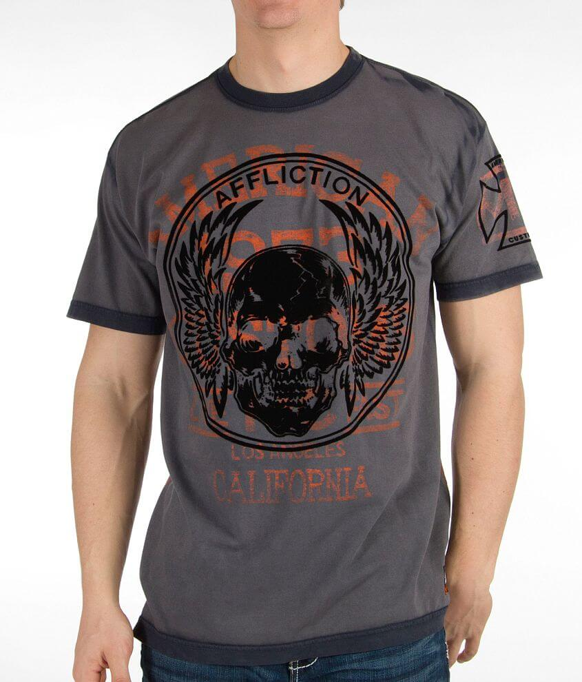 Affliction American Customs Boilermaker T-Shirt front view