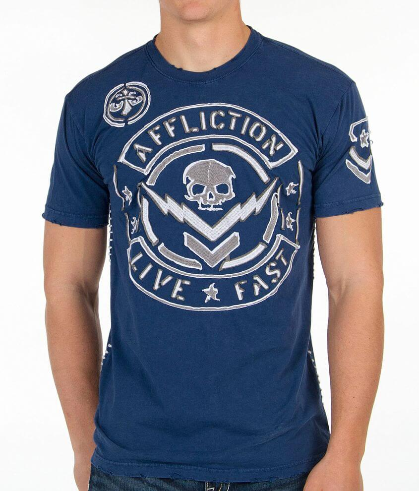 Affliction Throttle T-Shirt front view