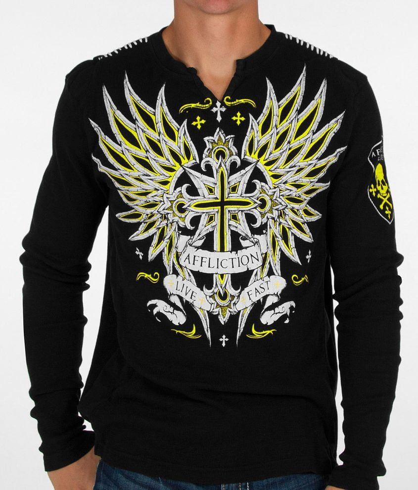 Affliction Vibrant T-Shirt front view
