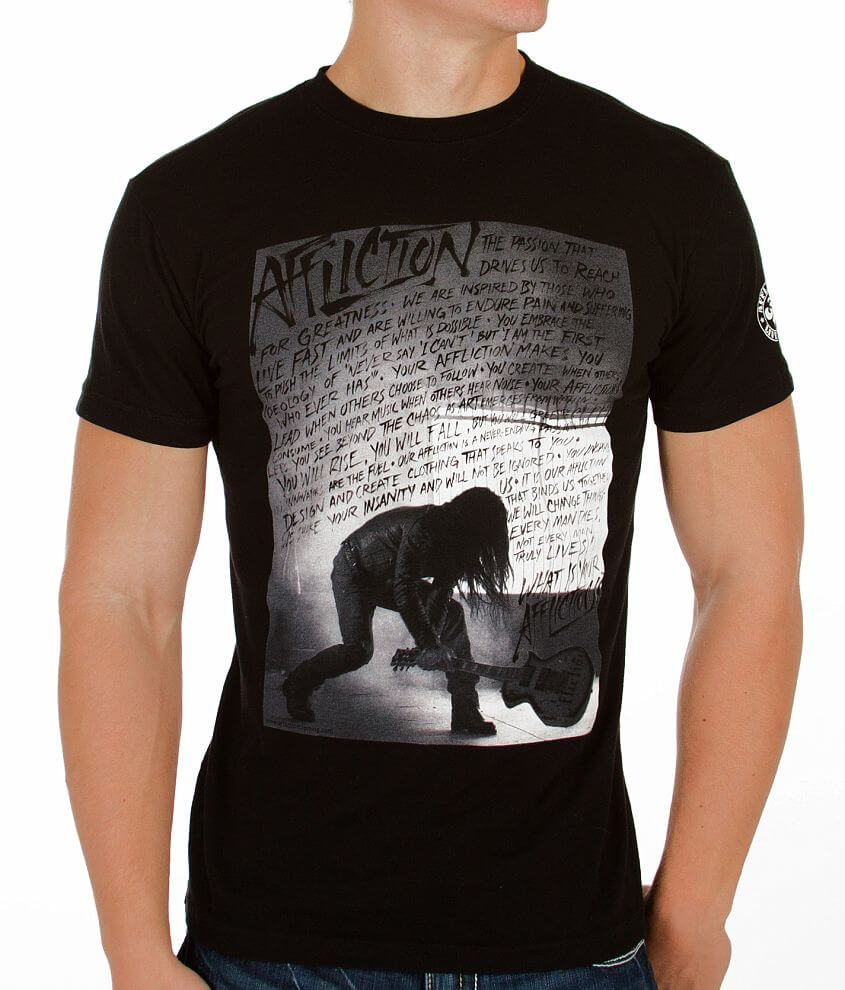 Affliction Creed Smash T-Shirt front view