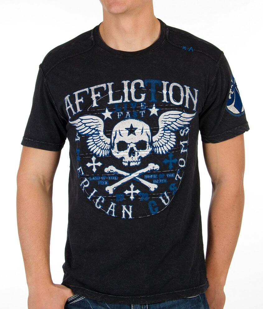 Affliction Creeps T-Shirt front view