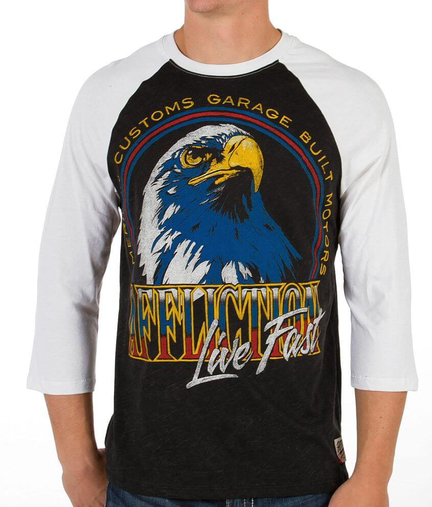 Affliction American Customs Old Glory T-Shirt front view