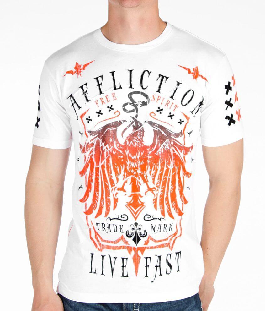 Affliction Miser T-Shirt front view