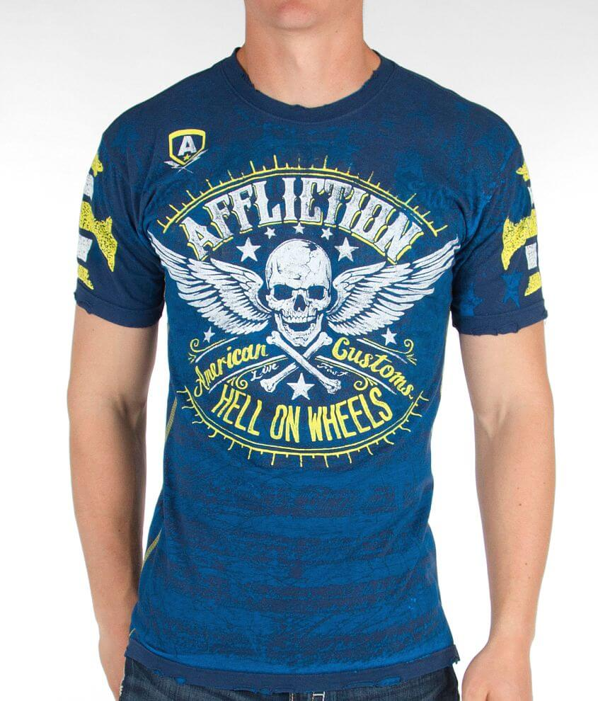 Affliction Heroic Reversible T-Shirt front view