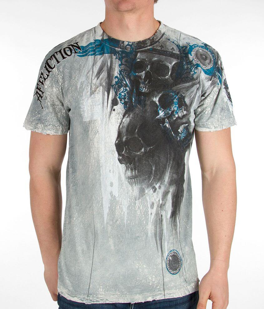 Affliction Death Rattle T-Shirt front view