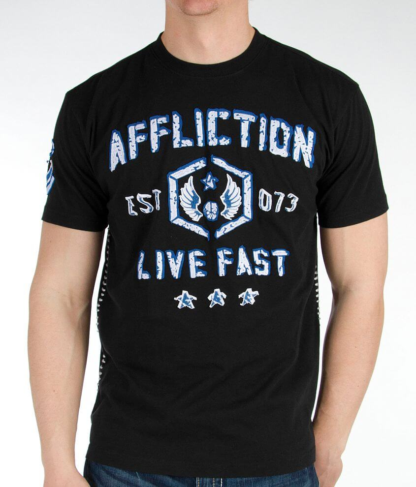 Affliction Foxhole T-Shirt front view