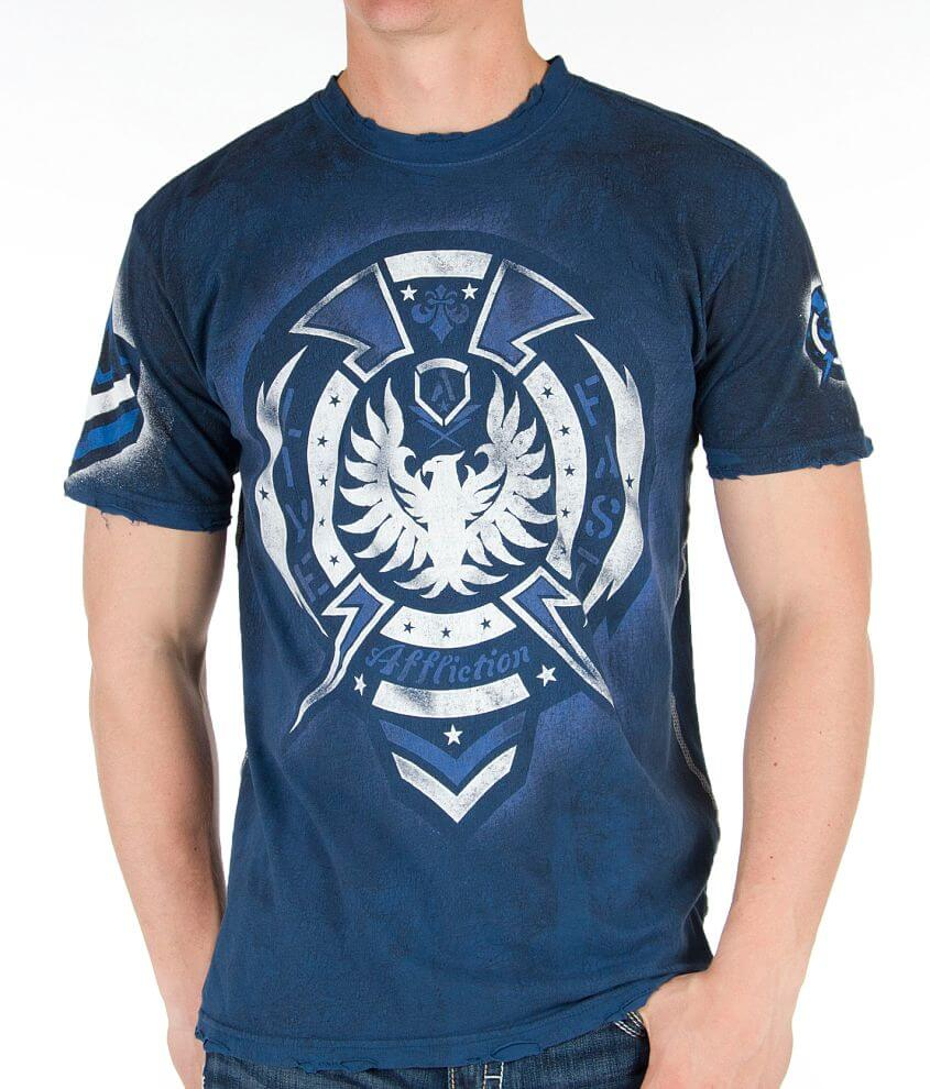 Affliction Hypersonic Reversible T-Shirt front view