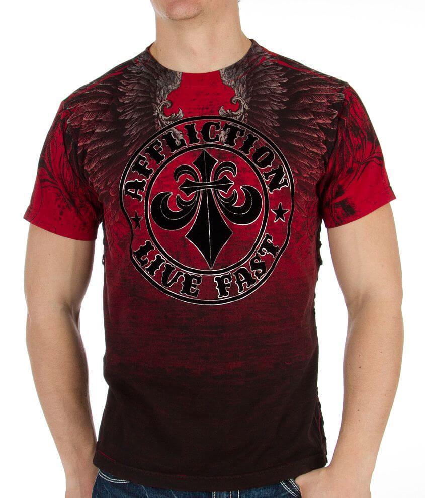 Affliction Vertical T-Shirt front view
