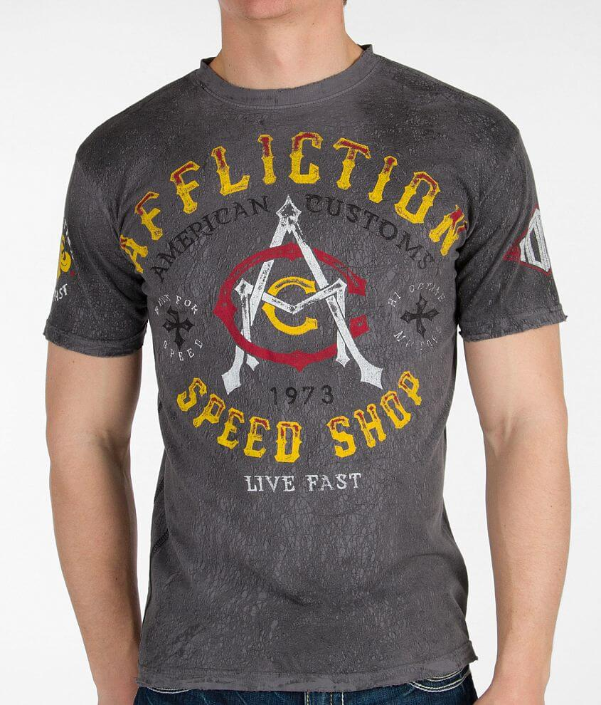 Affliction American Customs Speed T-Shirt front view